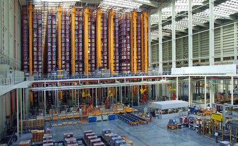 Mecalux completa el proceso de automatización de las bodegas de Porcelanosa Grupo en Castellón