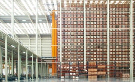 La nueva bodega mide 7.000 m2 y tiene capacidad para más de 65.000 pallets