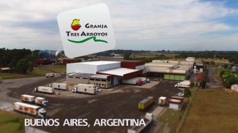 Pallet Shuttle optimiza la bodega avícola de Granja tres Arroyos