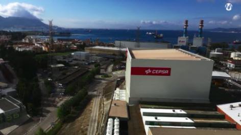 Mecalux ha construido una bodega automática autoportante con más de 4.500 m2 para Cepsa