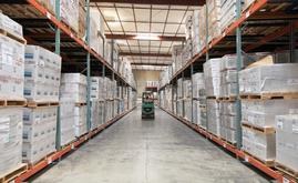 La nueva capacidad de almacenaje de la bodega de Desert Depot es de más de 16.000 pallets, casi el doble de la capacidad original