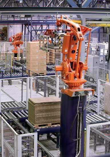 Robot antropomórfico para la manipulación de pallets.