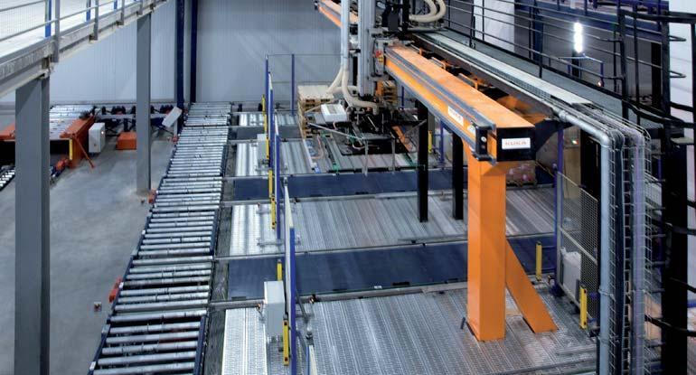 Imagen de un robot pórtico de dos ejes.
