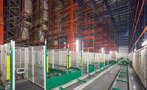 B. Braun ha adquirido una bodega automática autoportante con capacidad para 42.116 pallets construida por Mecalux