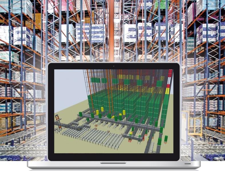 Simulación en la cadena de suministro es una representación virtual de todos los procesos logísticos