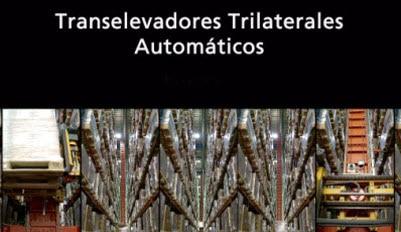 Aplicación del transelevador trilateral automático para nuestro cliente Disalfarm