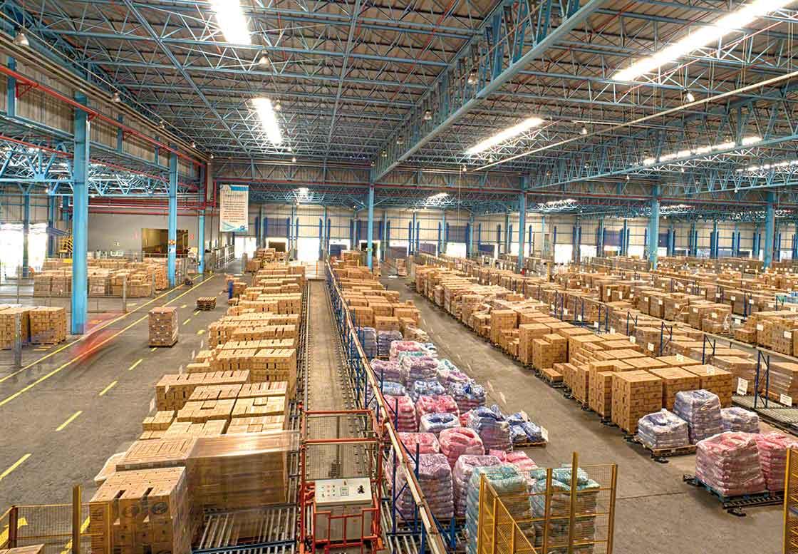 La consolidación de mercaderías es una estrategia encaminada a optimizar el espacio de almacenaje