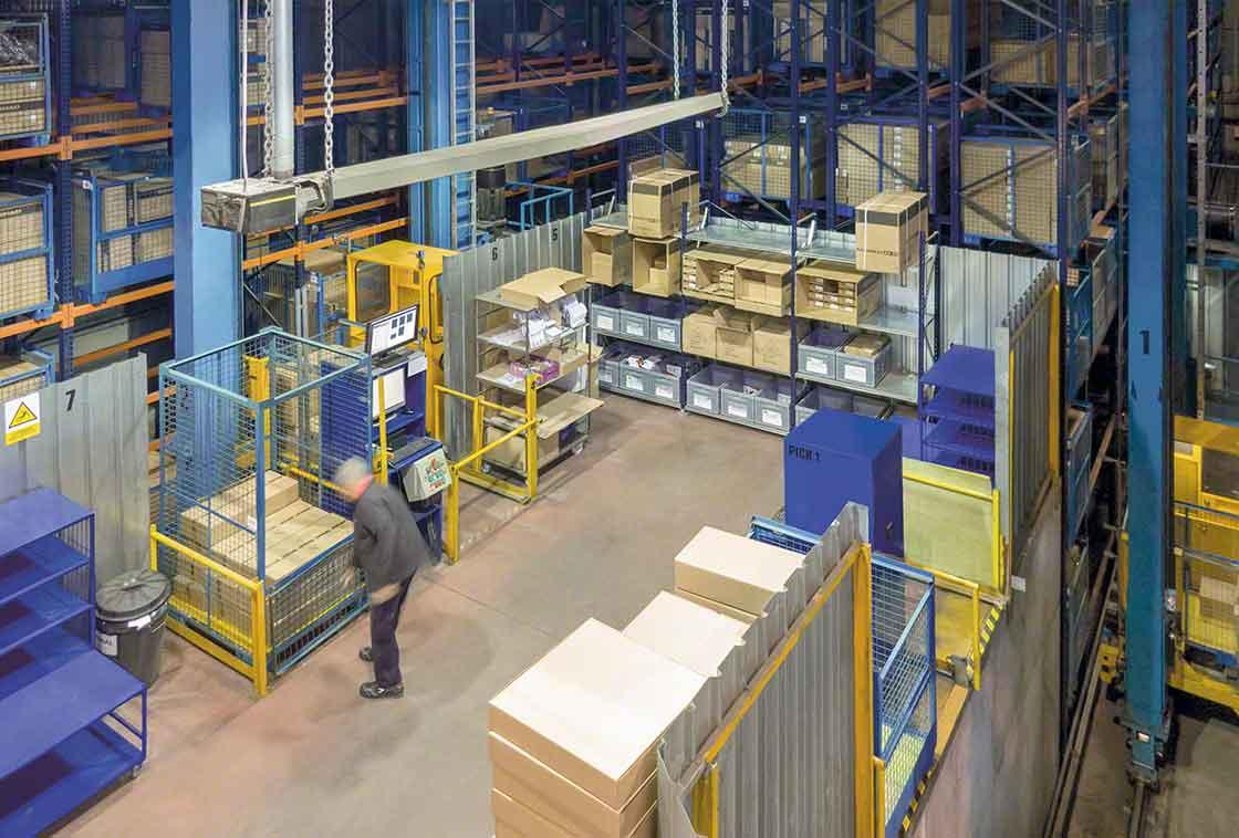 En 'Lean logistics' la zona de picking y preparación de pedidos debe estar limpia y organizada para agilizar el trabajo