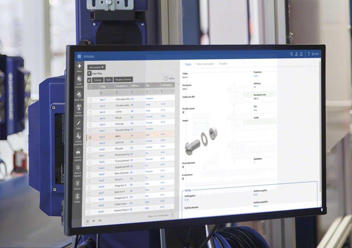 La reposición de stock de componentes puede programarse siguiendo el método Kanban